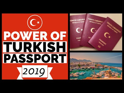 Turkish Passport Visa Free Countries 2019 - Visa Free, Visa On Arrival, Embassies