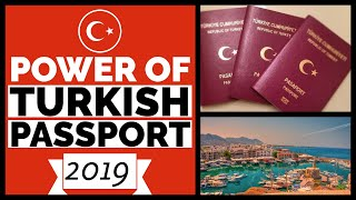 Turkish Passport Visa Free Countries 2019 - Visa Free, Visa on Arrival, Embassies