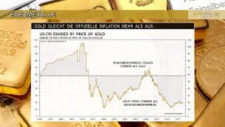 Sparer verlieren über 80% durch Inflation:  Warum Gold und Silber schützen, Bitcoins aber nicht!