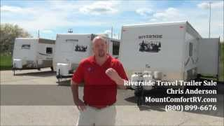 New Riverside Rv Travel Trailer Campers Special Sale