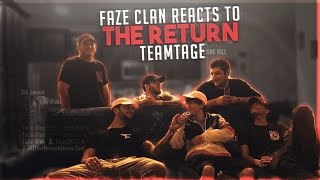 FAZECLAN REACTS TO #THERETURN TEAMTAGE