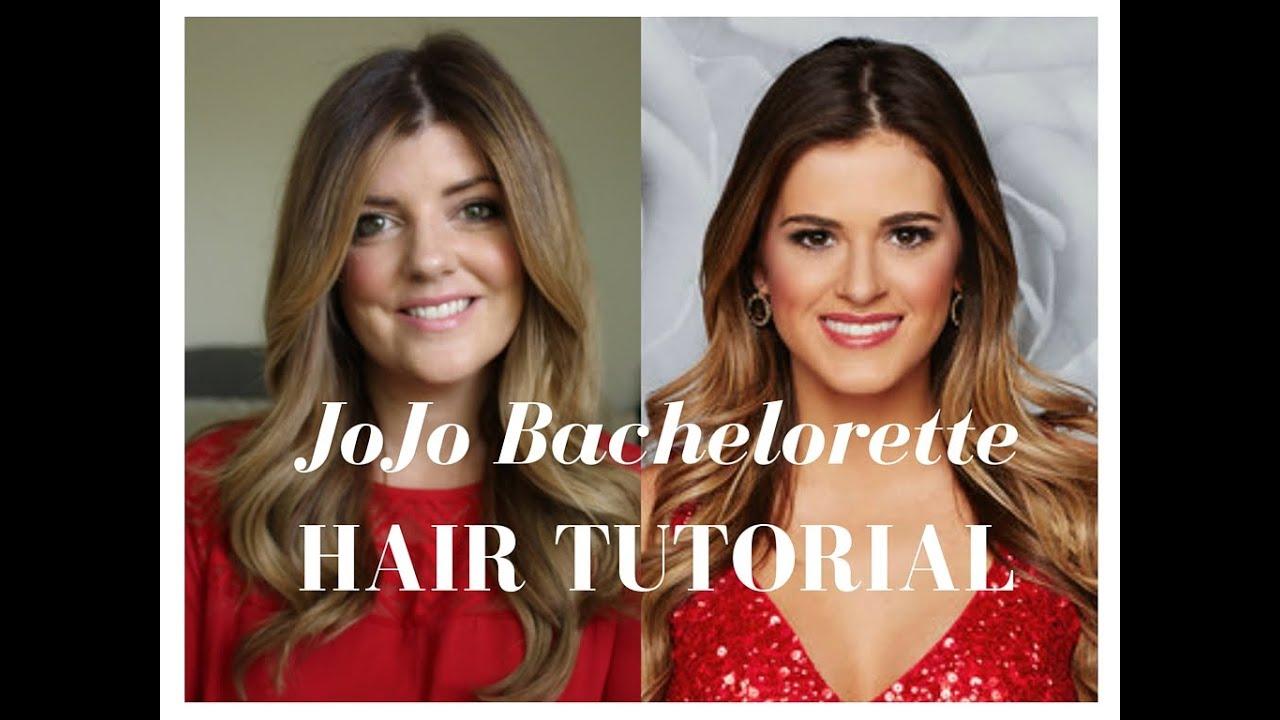 JoJo Bachelorette Hair Tutorial