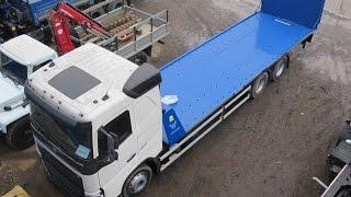 Эвакуатор Volvo FLH 6x2(Эвакуатор Volvo с гидравлической аппарелью грузоподъемностью 15 тонн предназначен для перевозки спецтехники..., 2015-03-27T11:34:40.000Z)