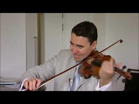 Violin masterclass: Maxim Vengerov works on Ravel's Tzigane