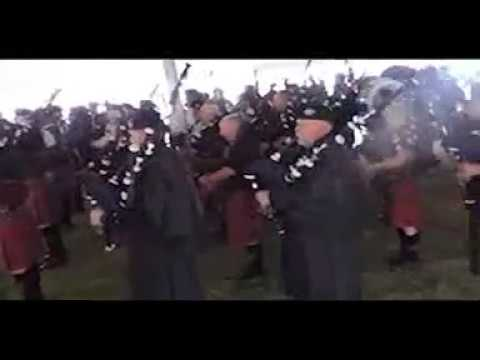Capital District Scottish Games 2017 - Massed Bands