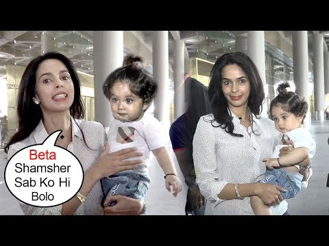 Mallika Sherawat Returns From America With A SHOCKING Surprise After 11 Years
