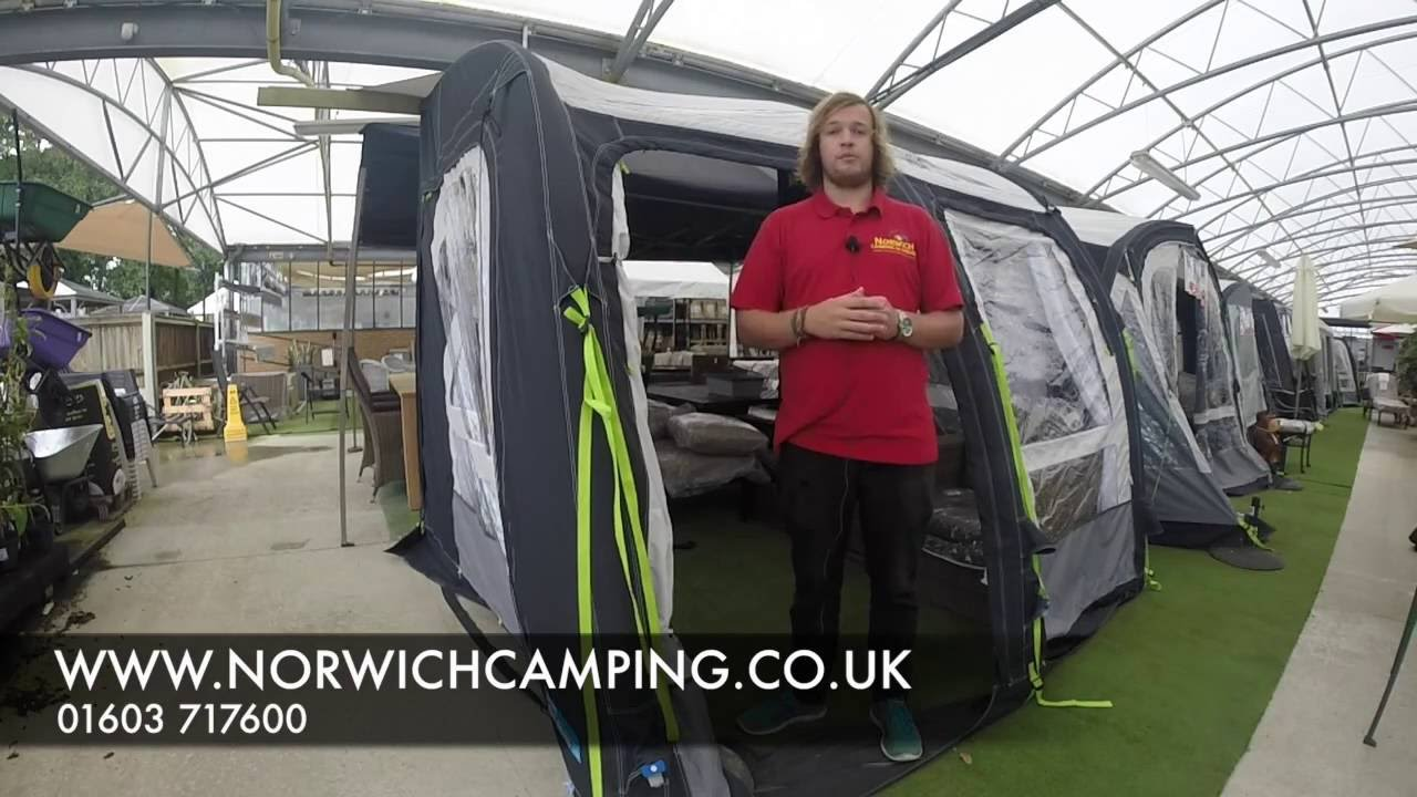 Kampa Motor Rally 260 Amp 330 Air Pro Awning 2018 Youtube