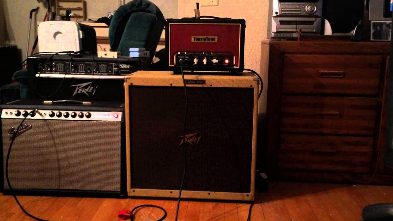 Peavey Classic Cabinet Fender Silverface Deluxe Reverb And Toasty Tone Hammond Cheese