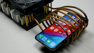 What Happens If Induction Heater Meets iPhone XS Max?