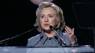 ¿Hillary Clinton es reptiliana? El extraño registro en plena campaña electoral