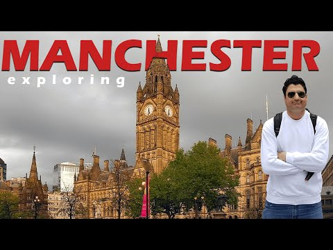 Exploring Manchester & Desi Nashta In UK | Europe Trip EP-9