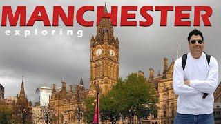Exploring Manchester & Desi Nashta in UK | Europe Trip EP-9