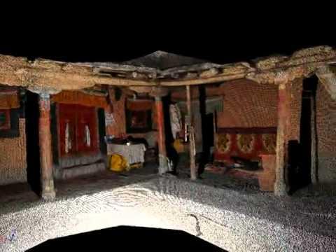 LiDAR - Dangkhar Monastery and Lochen Rinpochet's Residence