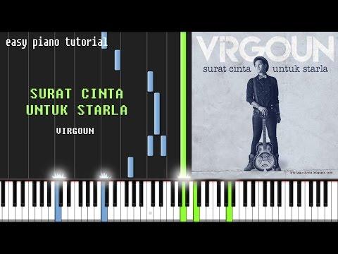 Virgoun - Surat Cinta Untuk Starla - Easy Piano Tutorial - Intro