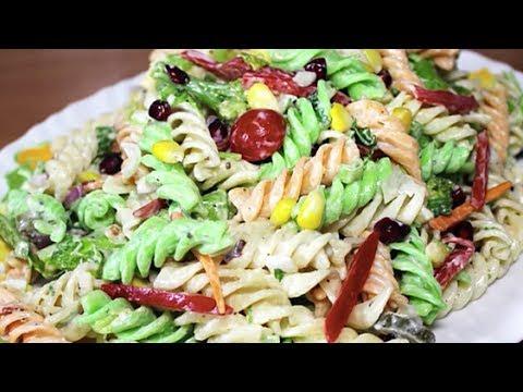 Creamy Pasta Salad With Mayonnaise  | Easy Pasta Salad Recipe | Kanak's Kitchen