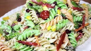 Creamy Pasta Salad with Mayonnaise  | Easy Pasta Salad Recipe | Kanak's Kitchen