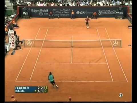 Federer vs. Nadal final Hamburg 2007
