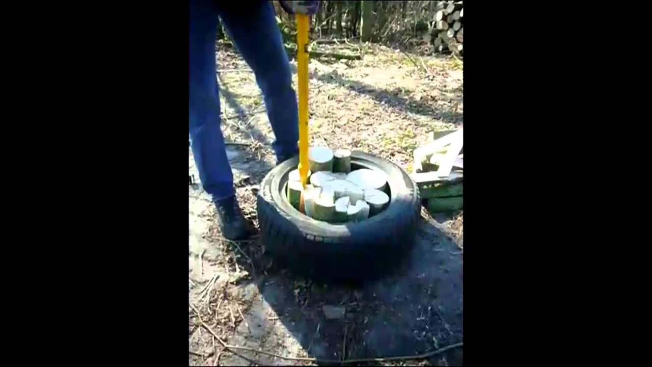 Verrassend De Logmatic houtklover getest - YouTube PZ-44