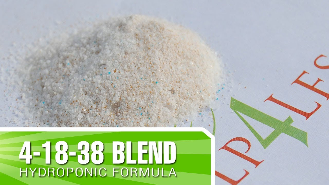 How To Mix Our 4 18 38 Hydroponic Tomato Formula For Large Buds Blooms And Flowers