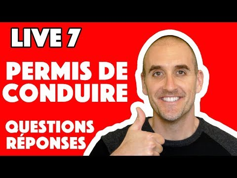 live 7 permis de conduire questions r ponses youtube. Black Bedroom Furniture Sets. Home Design Ideas