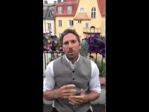 Henrik Lundqvist ALS Ice Bucket Challenge