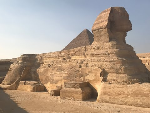 Traveling with Guide Of Egypt at the Giza Plateau, the Sphinx, and the Valley Temple