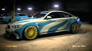 Need For Speed 2015 BMW M4 No Limits Razor Design Updated