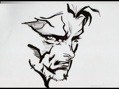 How To Draw Snake Metal Gear Solid