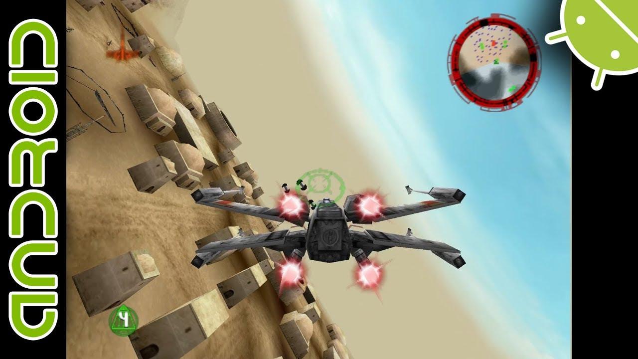 Star Wars: Rogue Squadron   NVIDIA SHIELD Android TV   Mupen64Plus FZ  Emulator [1080p]   Nintendo 64