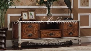 Italian Furniture TV Cabinet by Savannah Collections - Karges