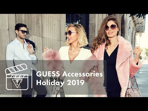 Behind The Scenes - GUESS Accessories Holiday 2019