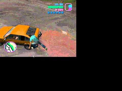 Bốc Đít Xe Trong Vice City
