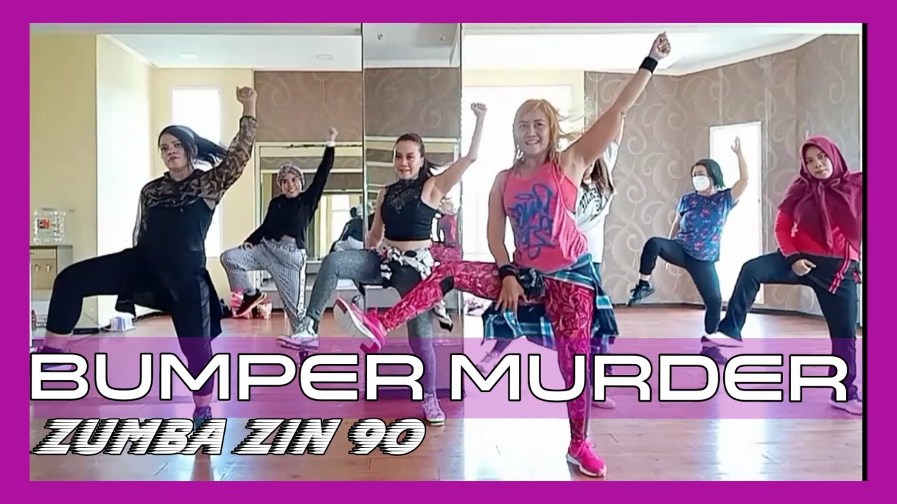 #zumba #zin90 #soca #BUMPER MURDER - SOCA   ZUMBA ZIN 90   Choreography