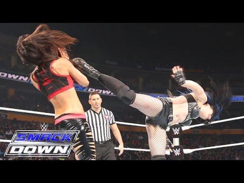 Paige vs. Brie Bella: SmackDown, June 18, 2015