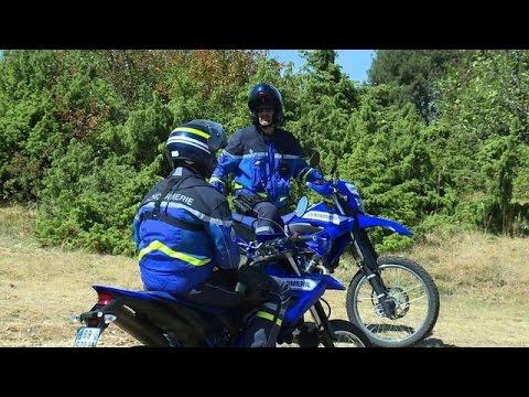 Sécheresse: des patrouilles de gendarmes en moto tout-terrain