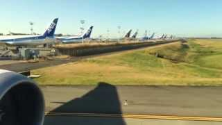 Air New Zealand's first Boeing 787-9 takes off from Seattle