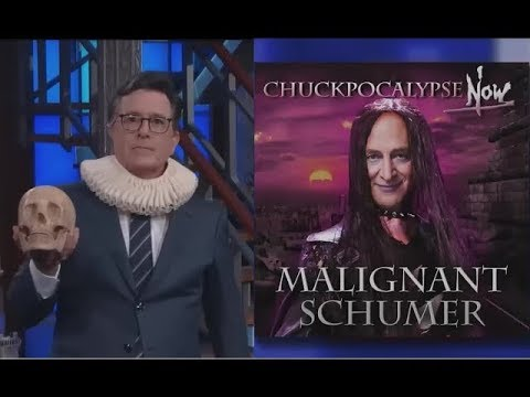 "Stephen Colbert on ""Russia Week"" 7/19/17: Trump and Putin, KISSING Western democracy ""GOODBYE"""