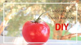 MASCARILLA DE TOMATE & AZUCAR( PIEL RADIANTE Y JOVEN) Thumbnail