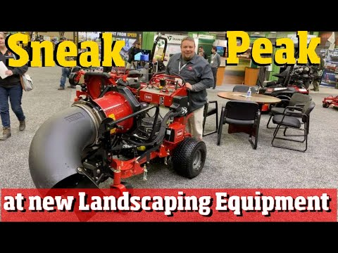 First Looks At New Landscaping And Lawn Care Tools And Equipment 4 K Video