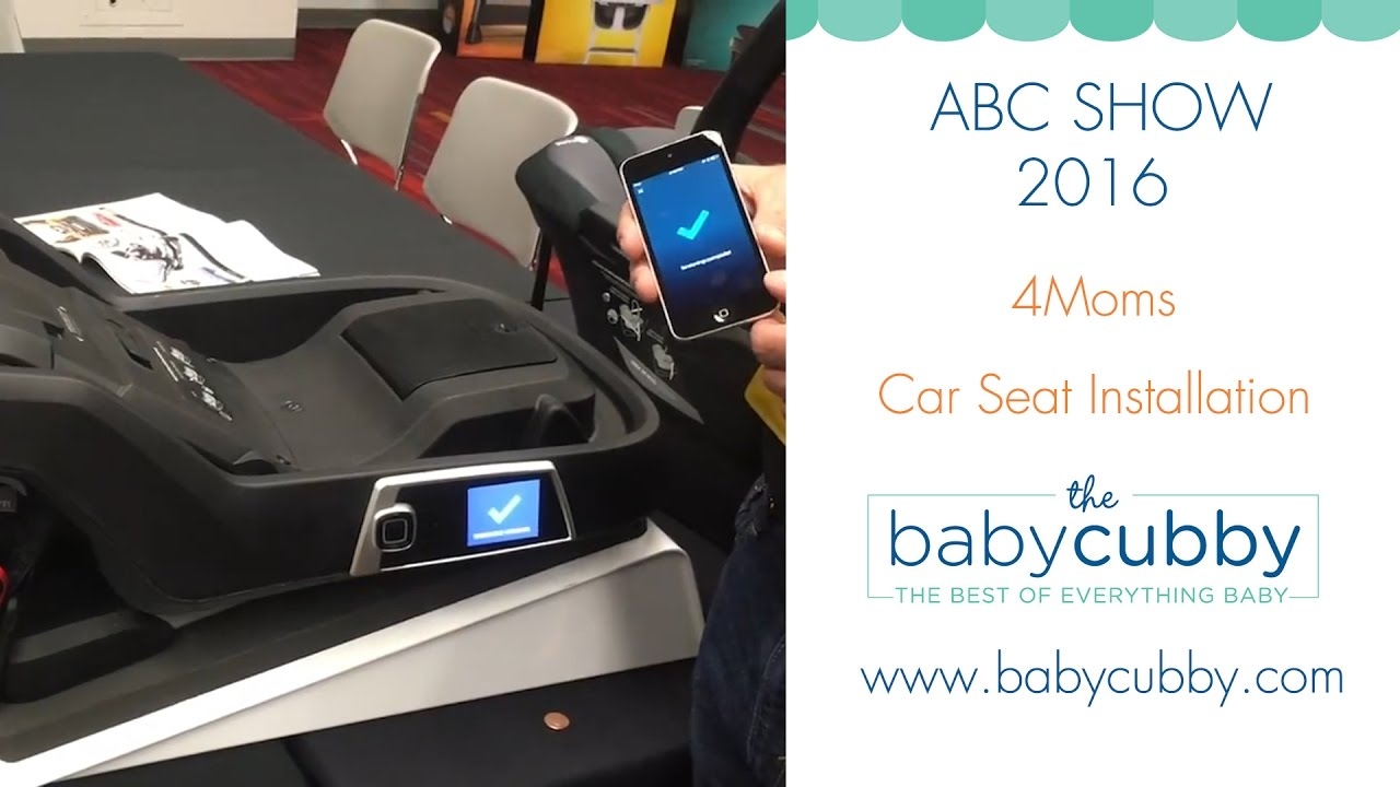 4Moms Self Installing Car Seat Demo From ABC Kids Expo Show 2016