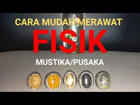 Cara MUDAH Merawat FISIK MUSTIKA / PUSAKA
