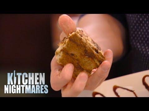 Gordon SHOCKED By Three Month Old Dessert   Kitchen Nightmares