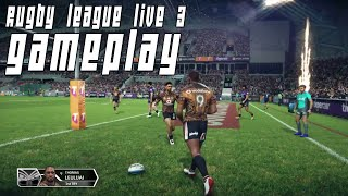 New! Rugby League Live 3 | GAMEPLAY