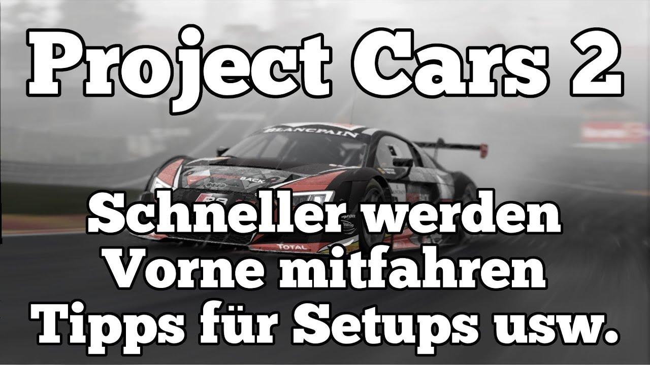 Project cars 2 setup tipps
