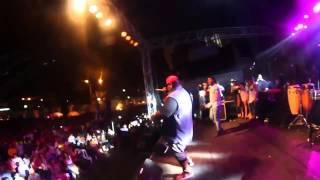 EL NEGRO CON SABOR /BEDER EL MUSICOLOGO  MR OMAR EL APACHE /  EN VIVO QUININDE