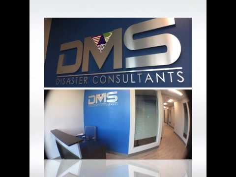 DMS Disaster Consultants Lobby Sign - Interior Signage