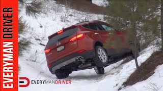 Off-Road Bonus: 2015 Hyundai Santa Fe Off-Road on Everyman Driver