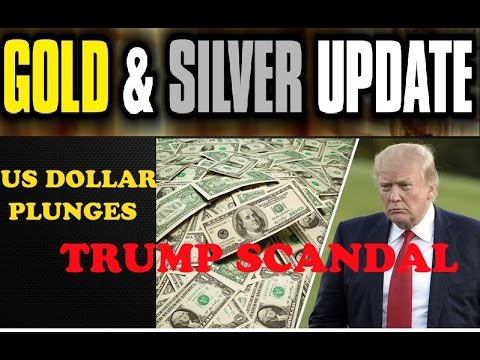 LATEST UPDATES ➤Gold & Silver Price Update 2017 + US Dollar Plunges On Trump Scandal