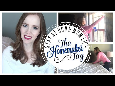 How I REALLY Feel About Being a Stay-at-Home Mom | THE HOMEMAKER TAG | Favorite Chore, Am I Happy?