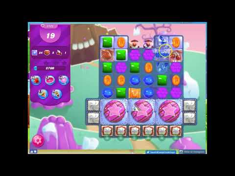 Candy Crush Level 2528 Audio Talkthrough, 2 Stars, Switch hand